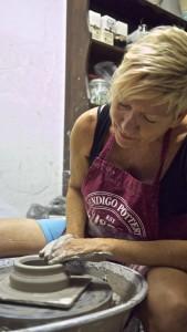 Michaela Kloeckner at work
